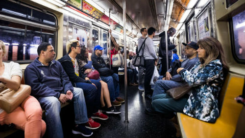 долгий путь в метро
