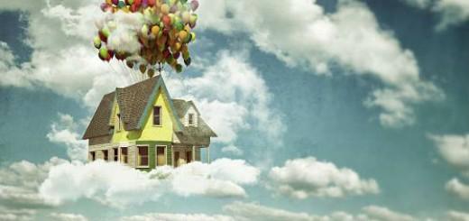 летающий дом во сне