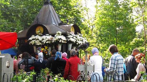 могилка чудотворицы матроны московской