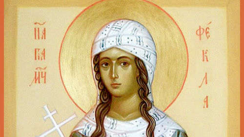 икона святой мученицы феклы