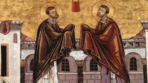 святые бессеребряники косма и дамиан