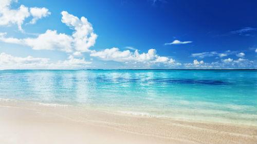 чистое море голубое во сне