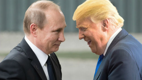 главы россии и америки