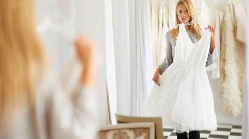 сон знакомая в белом платье