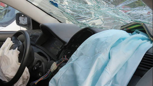 разбить машину
