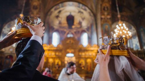 венчание в часовне