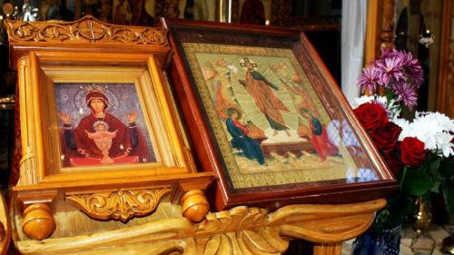 молиться перед иконой Неупиваемая чаша