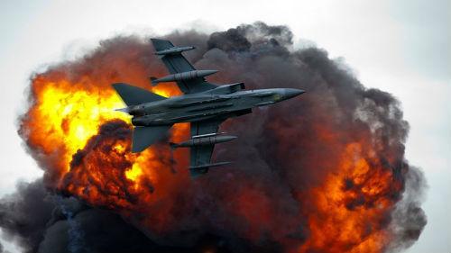взрывы самолеты