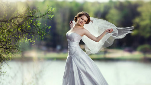 видеть себя невестой в белом платье