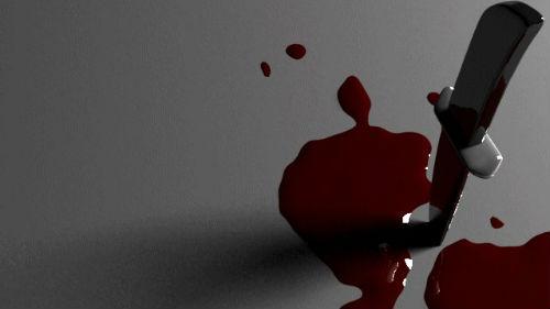 кинжал в крови