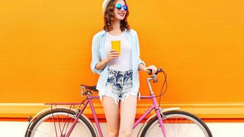 к чему снится велосипед женщине