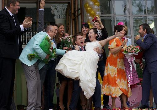 а вы сосали на собственной свадьбе