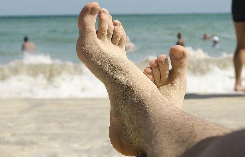 Большие грязные ноги фото 662-175