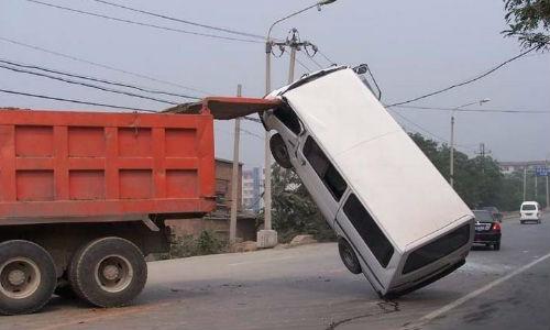 Авария на машине