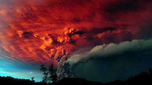 извержение вулкана во сне