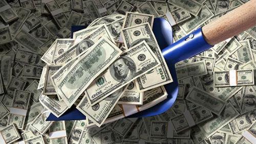 грести деньги лопатой во сне