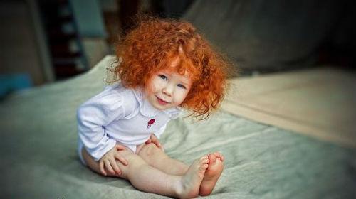 рыжие волосы во сне у себя