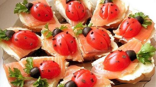 Какие бутерброды приготовить на день рождения