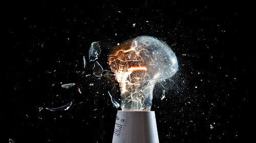 разбитая лампочка во сне