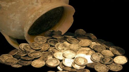 клад монеты