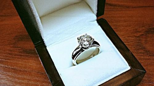 обручальное кольцо с бриллиантом во сне