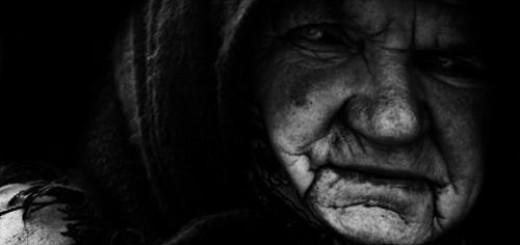 злая старуха во сне