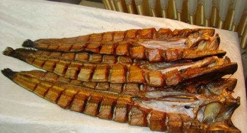Копченая рыба беременной