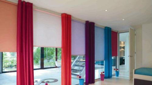 цветные занавески во сне