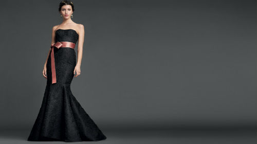 Снится красивое черное платье