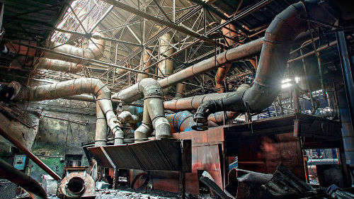 заброшенный завод