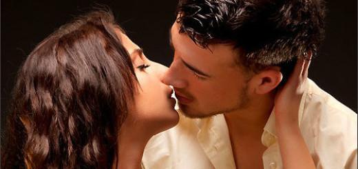 поцелуй в губы с парнем во сне