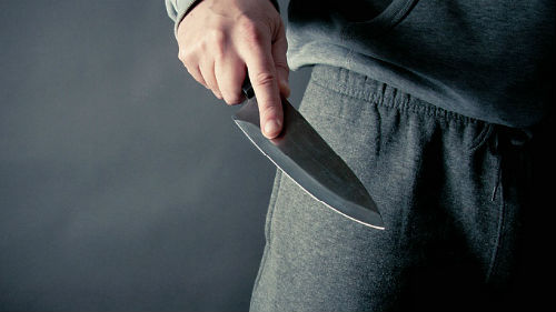 за вами гонятся с ножом