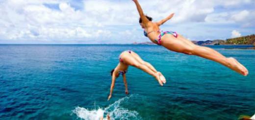 прыгать в воду во сне