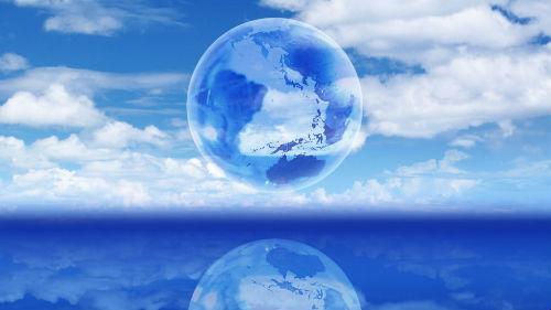 земной шар во сне
