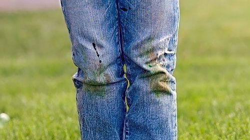 испачканные штаны