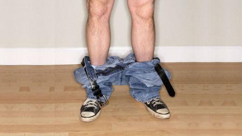 снимать штаны