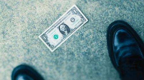 деньги доллары найти