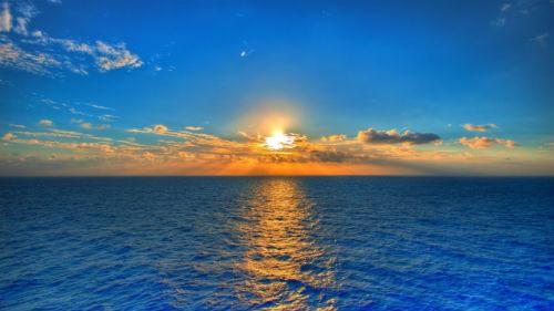приснилось море чистое голубое