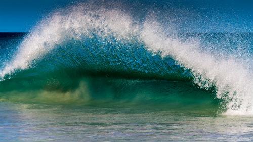 фото море волны