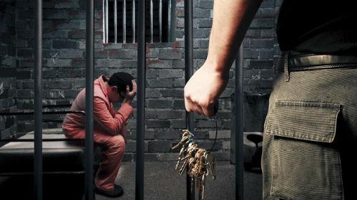 Посадили во сне в тюрьму. - m 7