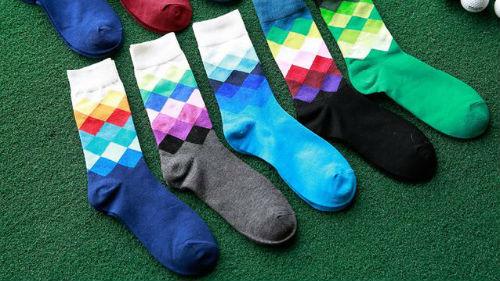 много разных носков