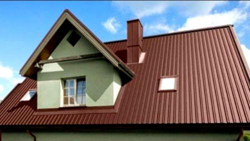 крыша дома новая