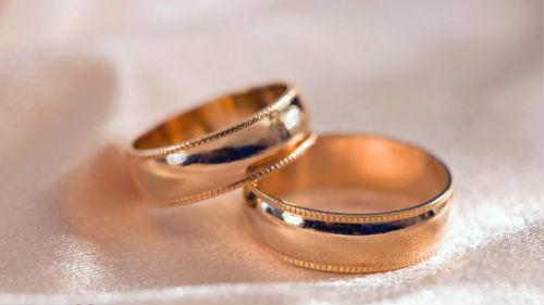 два свадебных кольца
