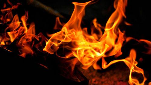 огонь во сне