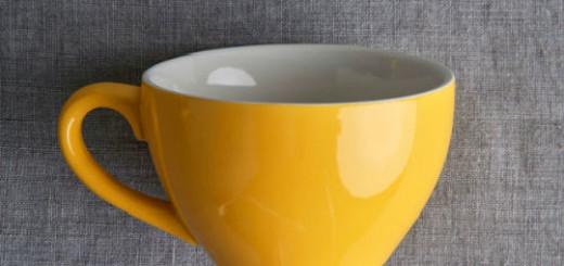 чашка пустая во сне