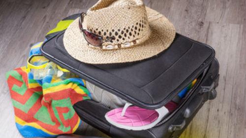 собранные чемоданы и сумки