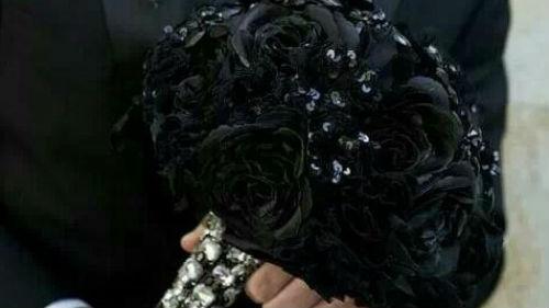 подарили необычные цветы