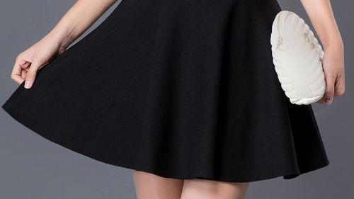 Сонник длинная чёрная юбка
