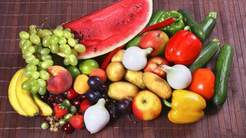 продукты на столе