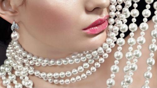 ожерелье жемчуг